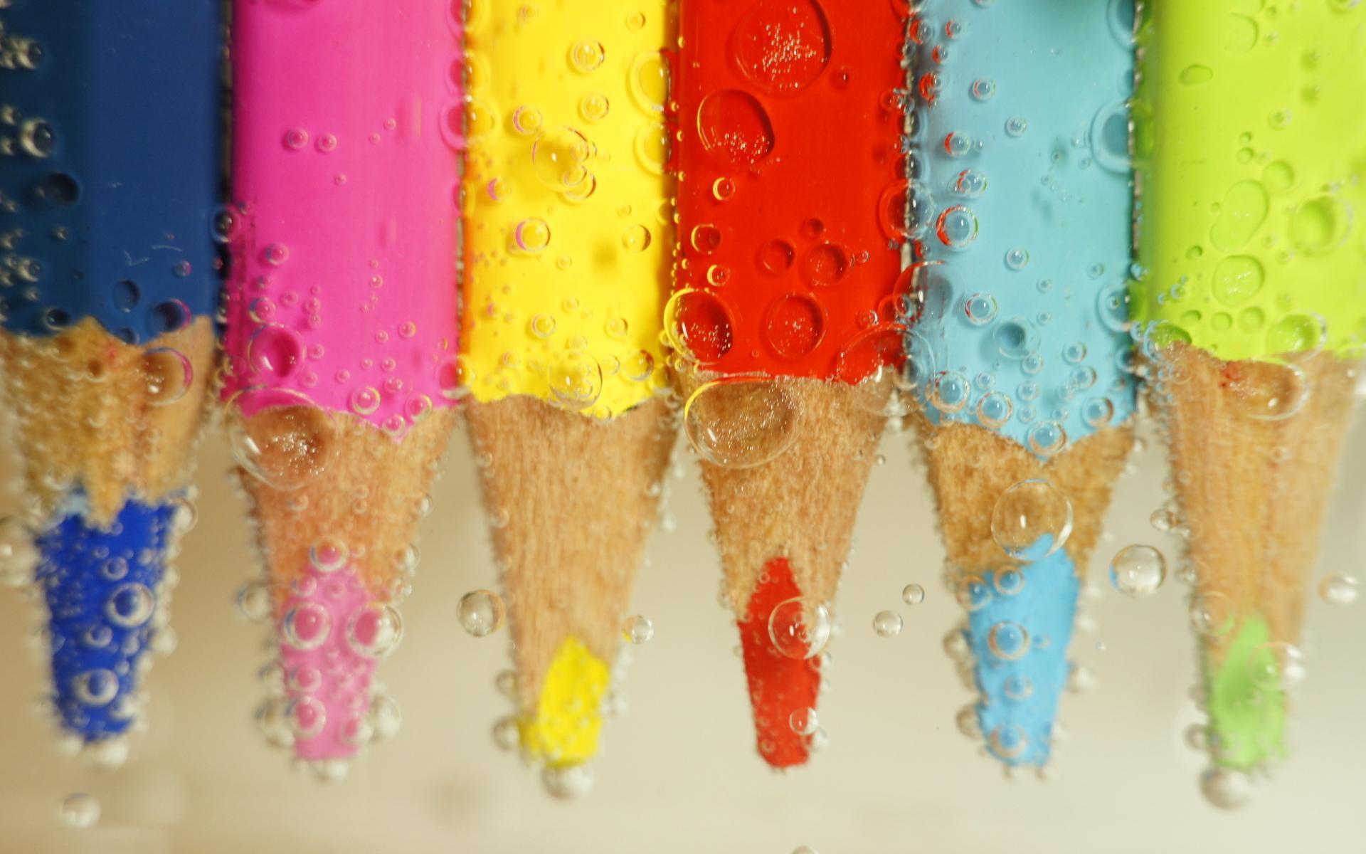Карандаши и краски скачать