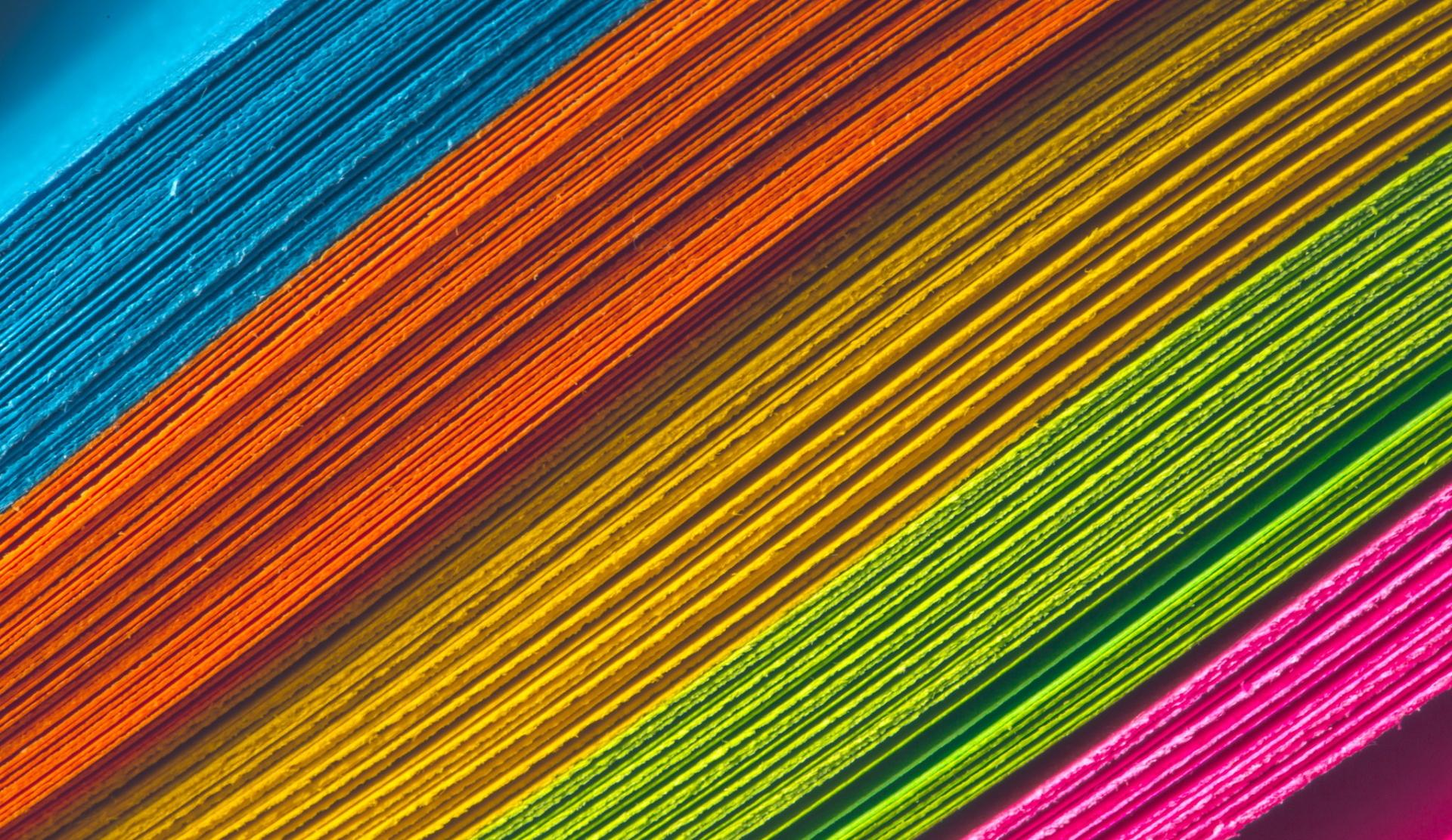 Rainbow Abstract Wallpaper HD Download