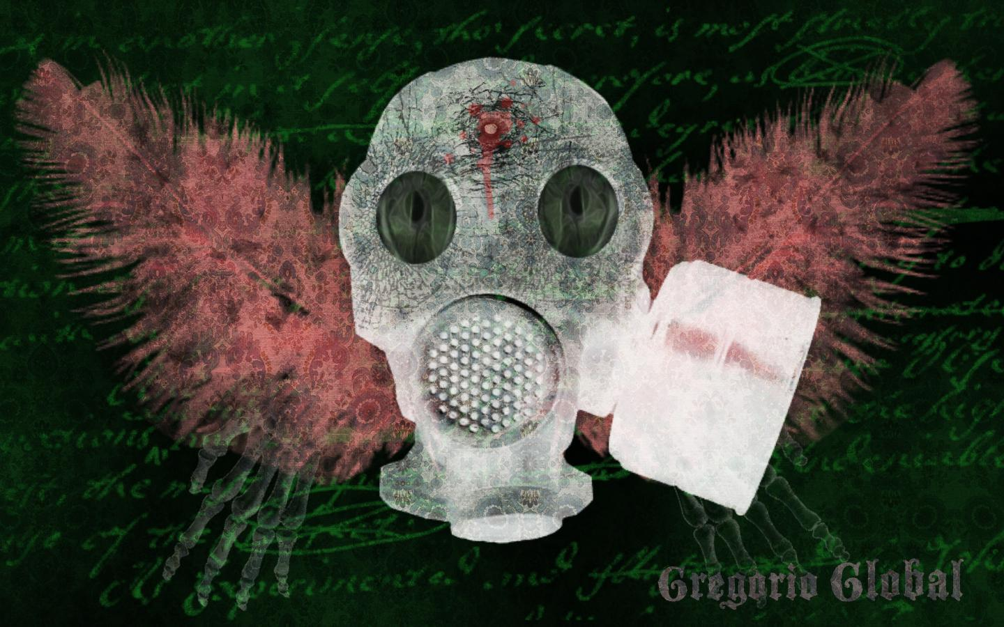gas mask wallpaper hd download