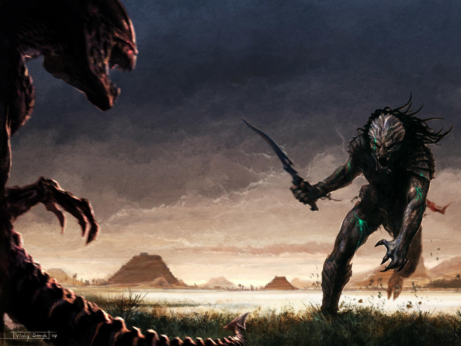 Alien Vs Predator Hd Wallpapers: Alien Vs. Predator Wallpaper HD Download