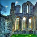 Valle Crucis Abbey PC wallpapers
