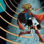 Supergirl Comics background