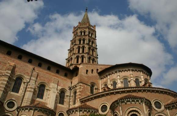 Basilica Of St. Sernin, Toulouse wallpapers hd quality