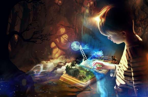 Child Fantasy wallpapers hd quality