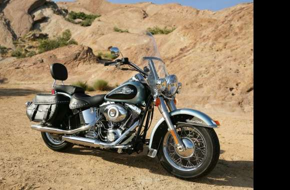 Harley-Davidson Heritage Softail wallpapers hd quality
