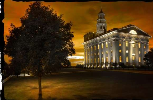 Nauvoo Temple wallpapers hd quality
