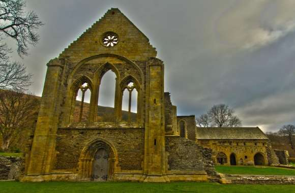 Valle Crucis Abbey wallpapers hd quality