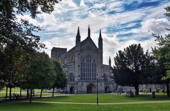 Winchester Cathedral wallpapers hd quality
