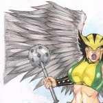 Hawkgirl Comics hd wallpaper