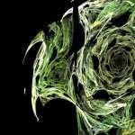 Green Abstract new wallpaper