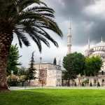 Sultan Ahmed Mosque background