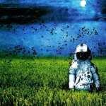 Astronaut Sci Fi desktop wallpaper