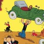 Popeye Comics hd wallpaper