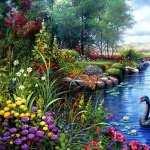 Spring Artistic wallpaper
