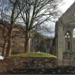 Valle Crucis Abbey high definition photo