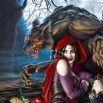 Red Riding Hood desktop wallpaper