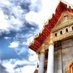 Wat Benchamabophit widescreen