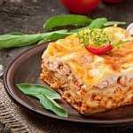 Lasagne high definition photo