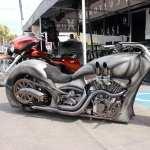 Custom Motorcycle 1080p