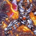 Cyborg Comics new wallpaper