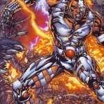 Cyborg Comics new wallpaper
