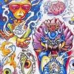Tattoo Artistic background