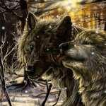 Wolf Fantasy background