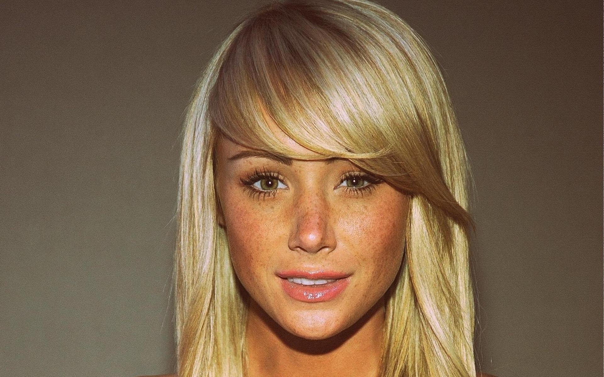 Sara Jean Underwood, Blonde HD Wallpapers / Desktop and