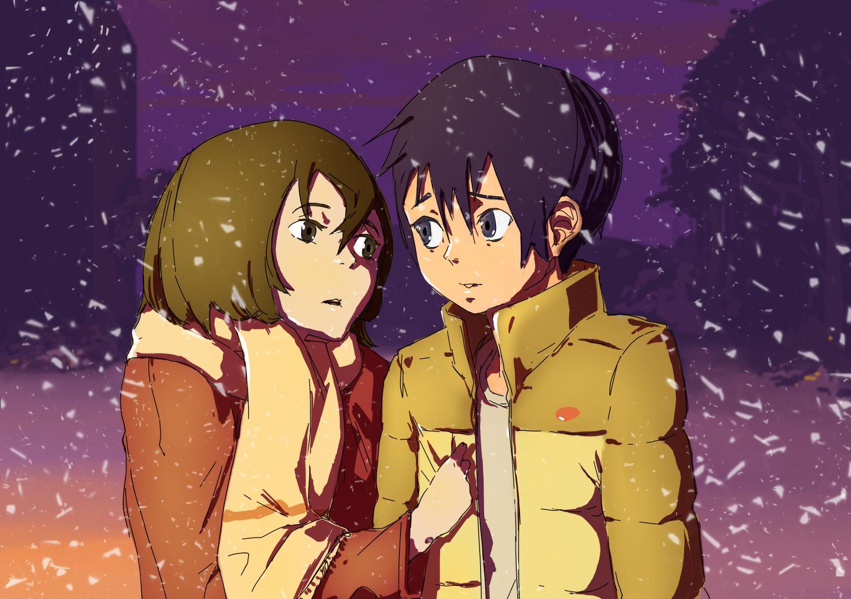 Erased wallpaper hd download - Fanart anime wallpaper ...