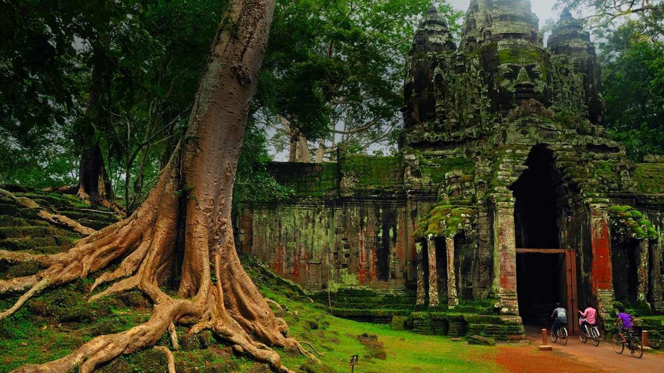 Angkor Thom wallpapers HD quality
