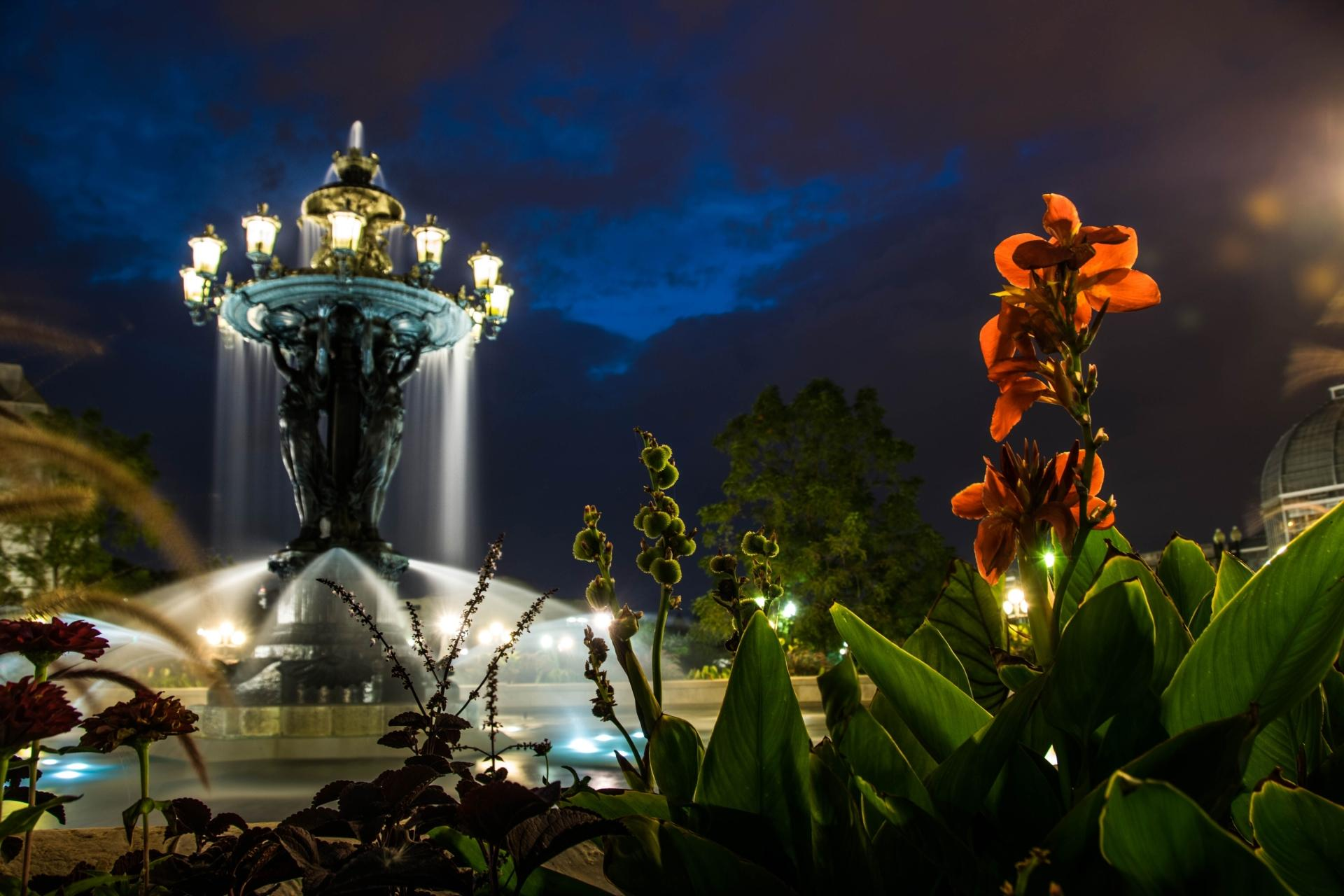 Bartholdi Fountain wallpapers HD quality