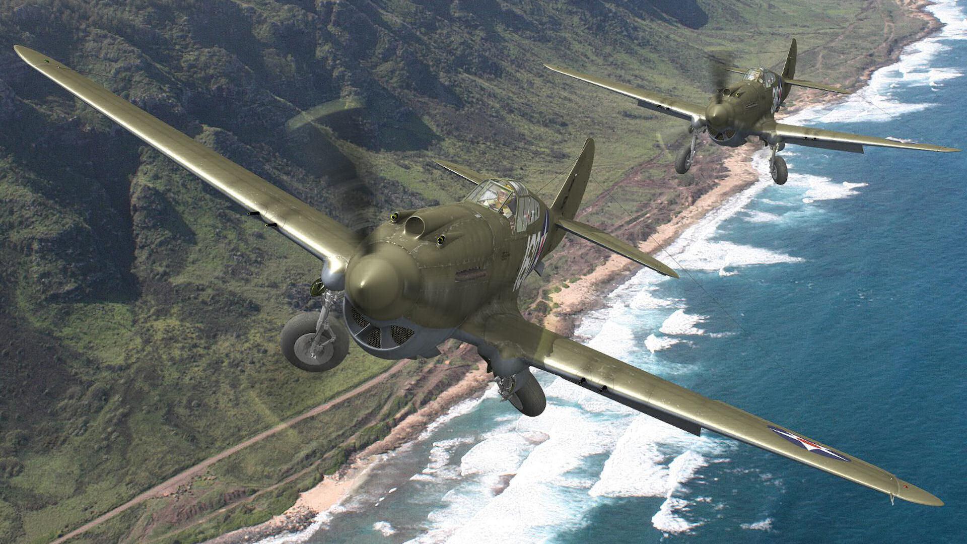 Curtiss P-40 Warhawk wallpapers HD quality