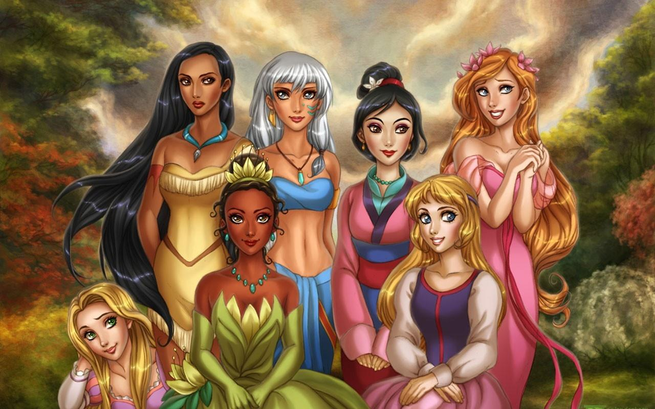 Disney Princesses wallpapers HD quality