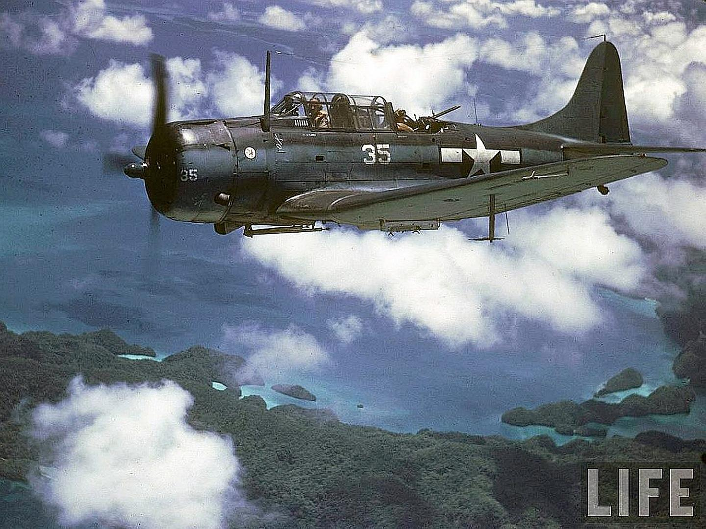 Douglas SBD Dauntless wallpapers HD quality