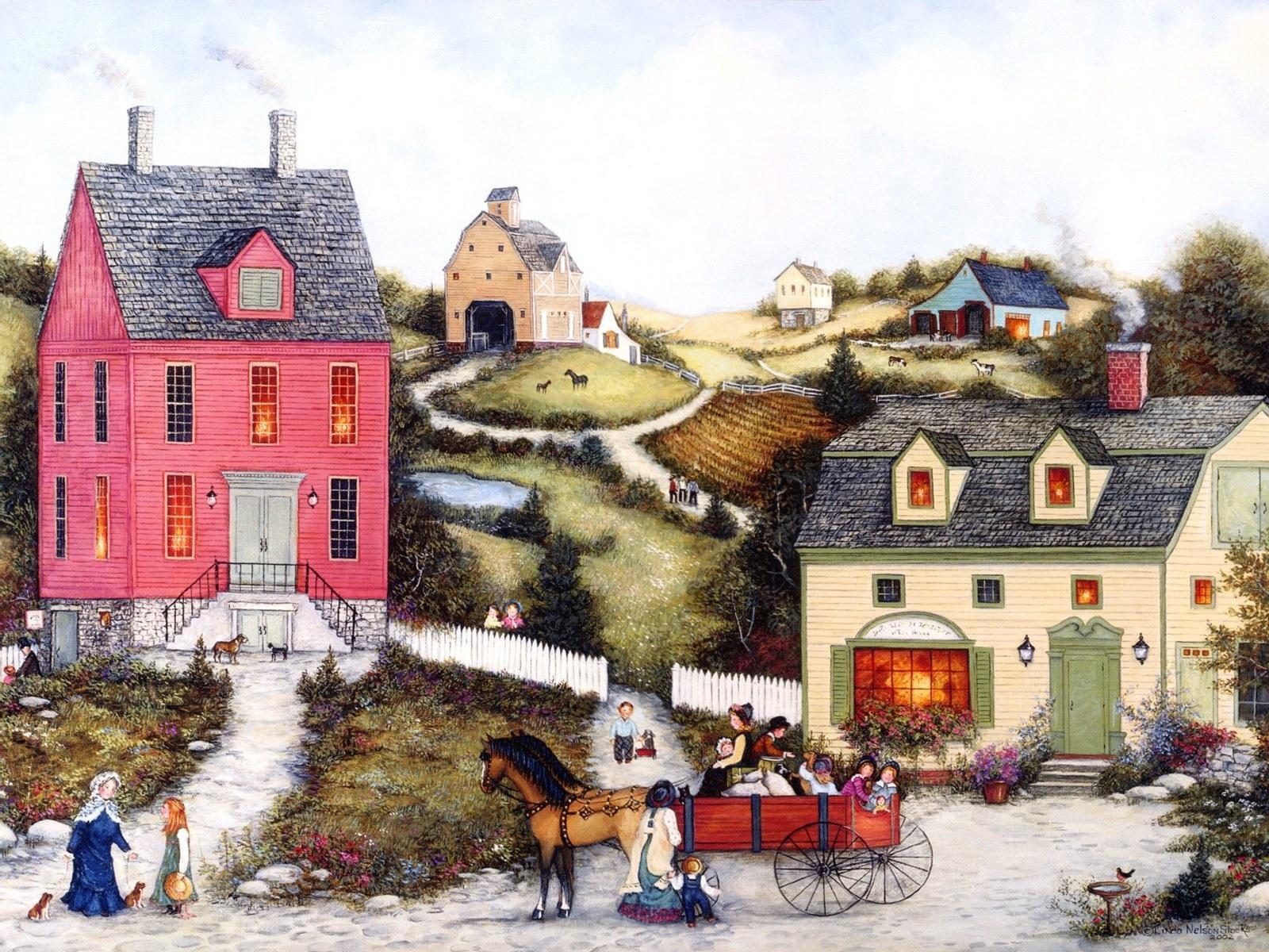 Folk Artistic wallpapers HD quality