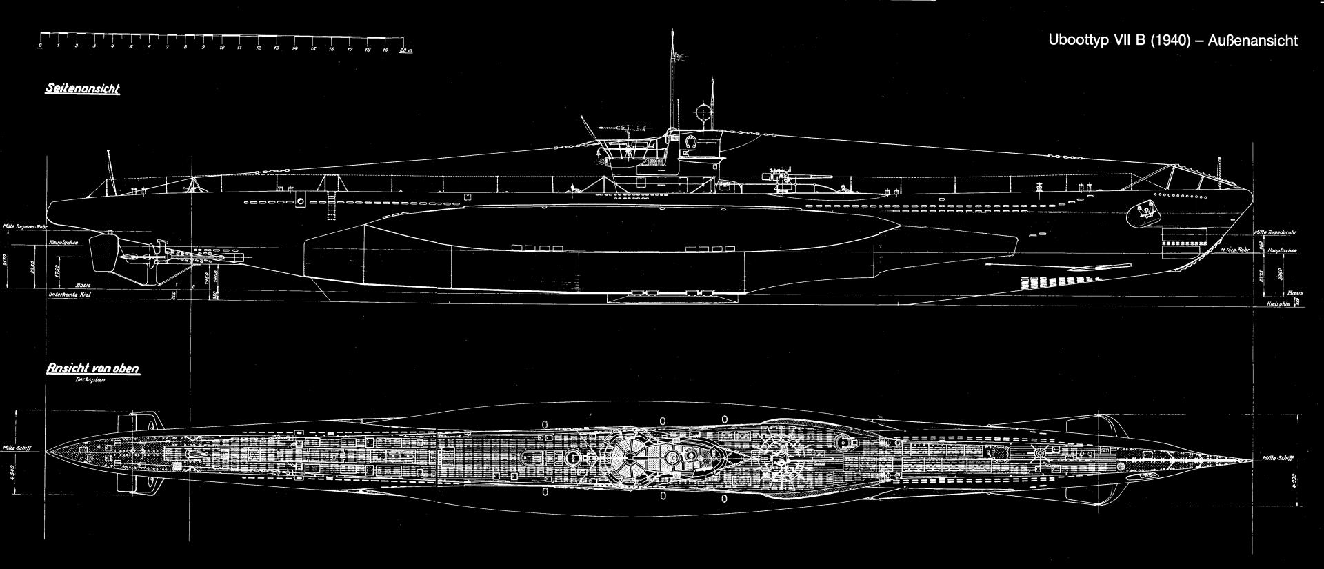 German Type VII Submarine wallpapers HD quality