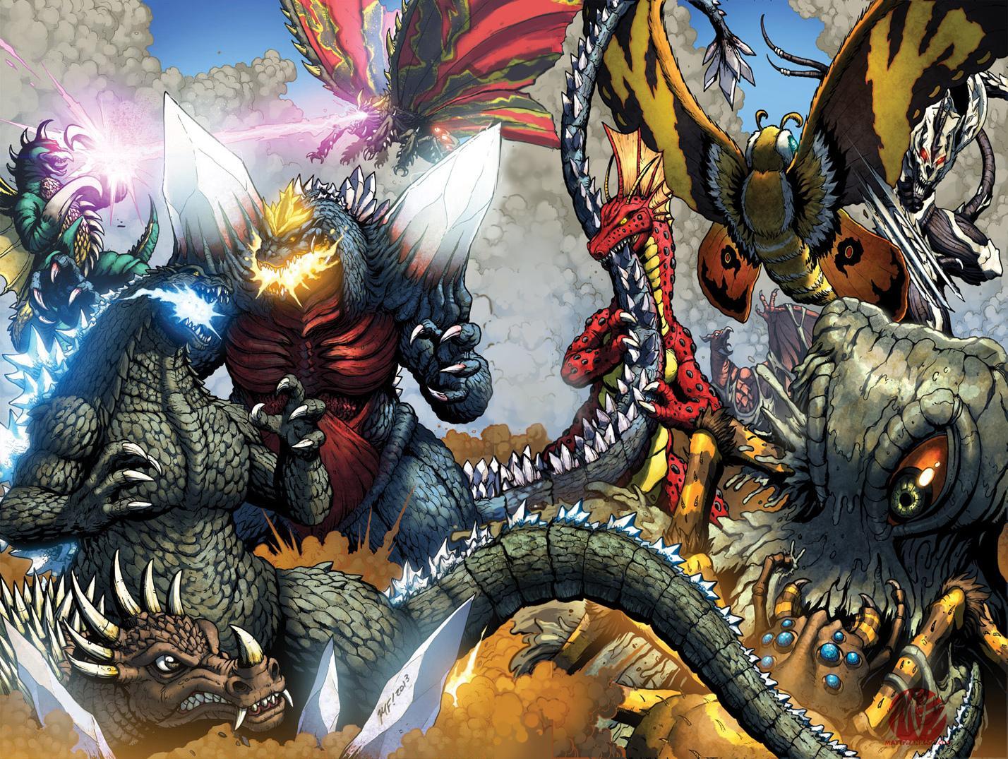 Godzilla Comics wallpapers HD quality