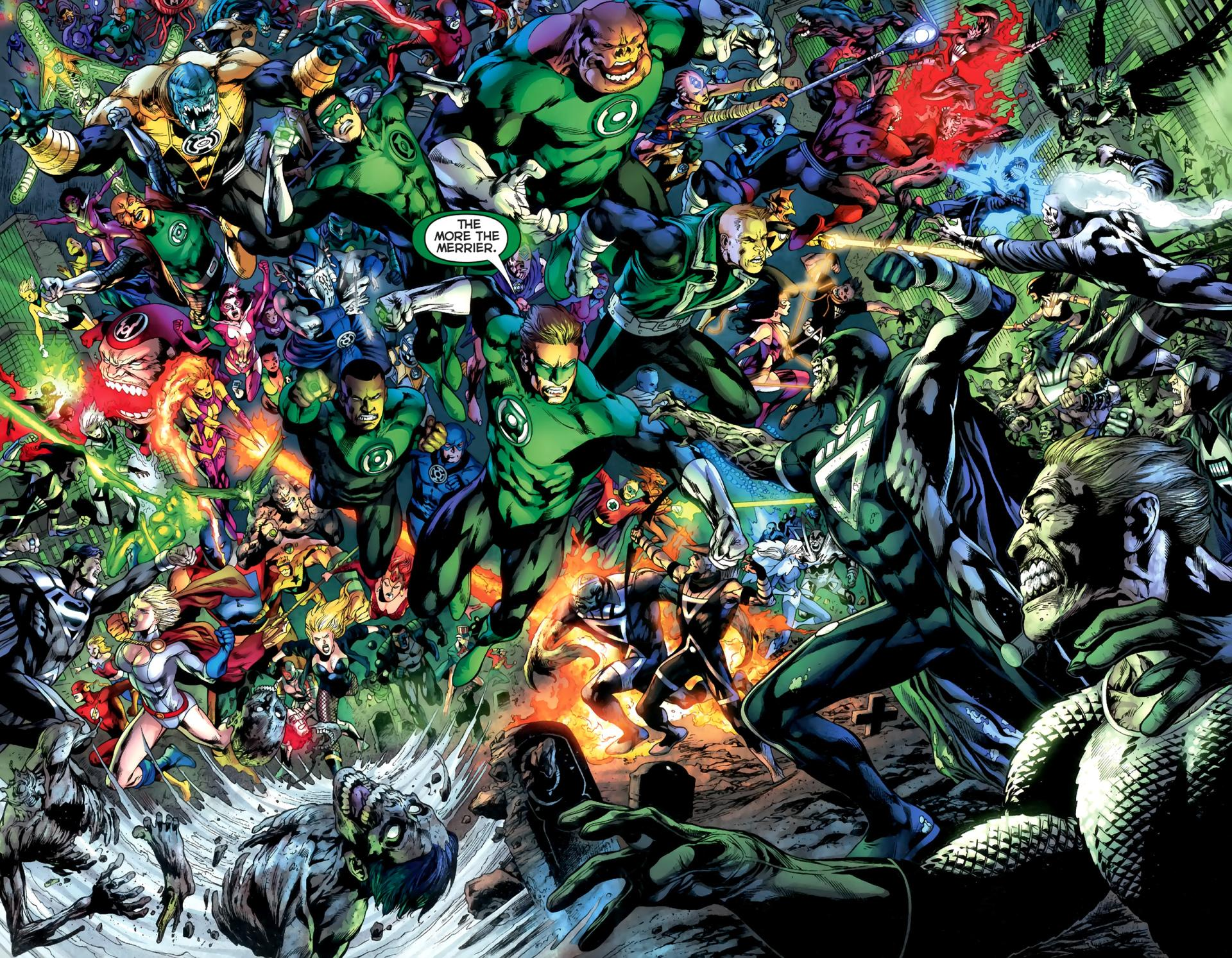 Green Lantern Corps wallpapers HD quality