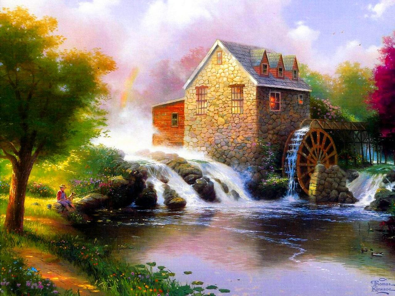Grist Mill wallpapers HD quality