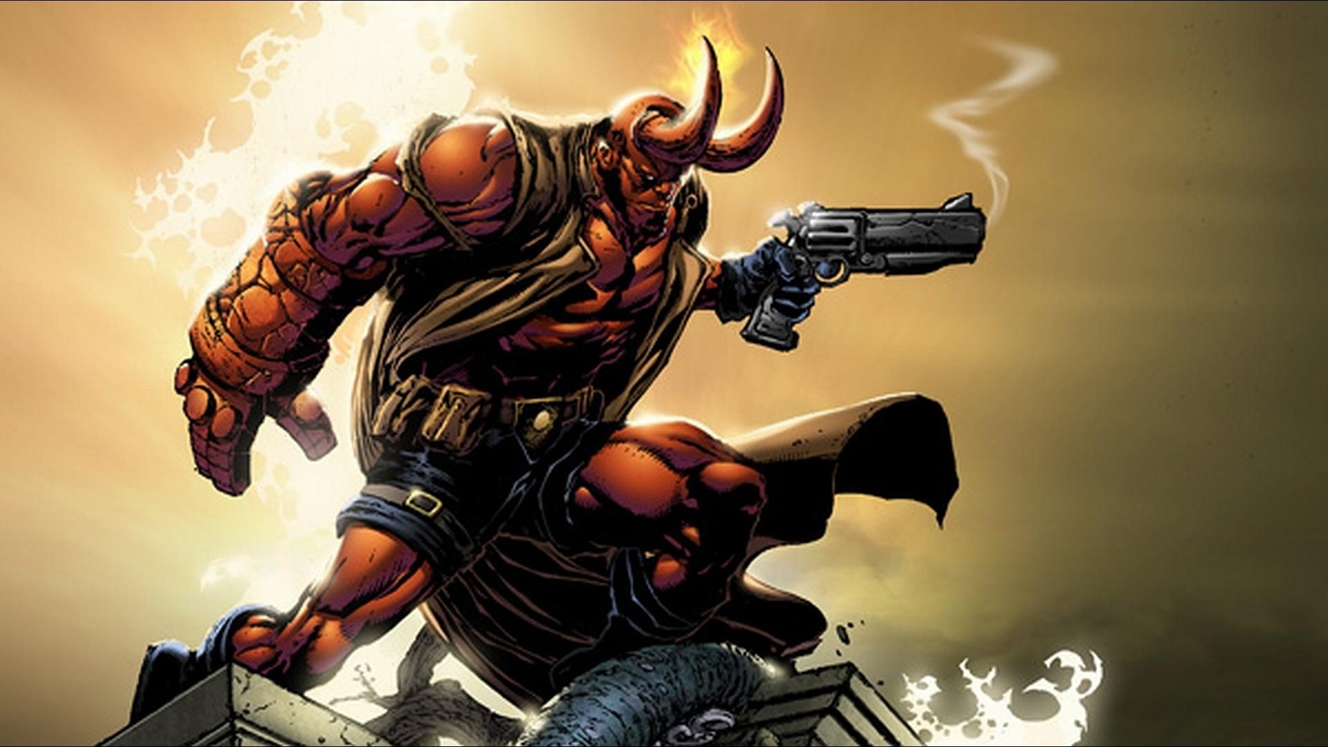Hellboy Comics wallpapers HD quality