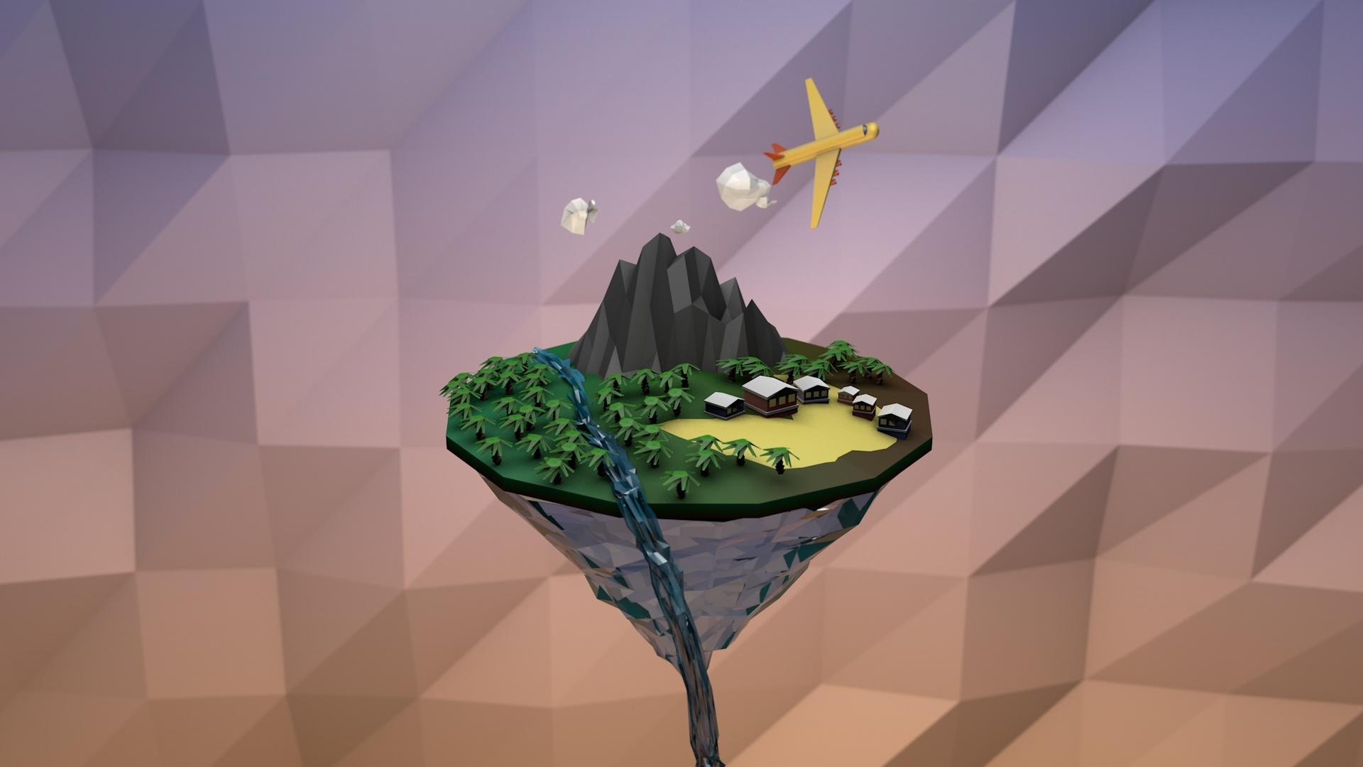Island Artistic wallpapers HD quality