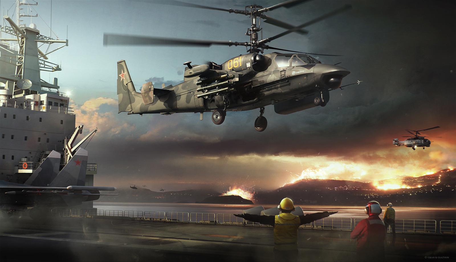 Kamov Ka-52 Alligator wallpapers HD quality