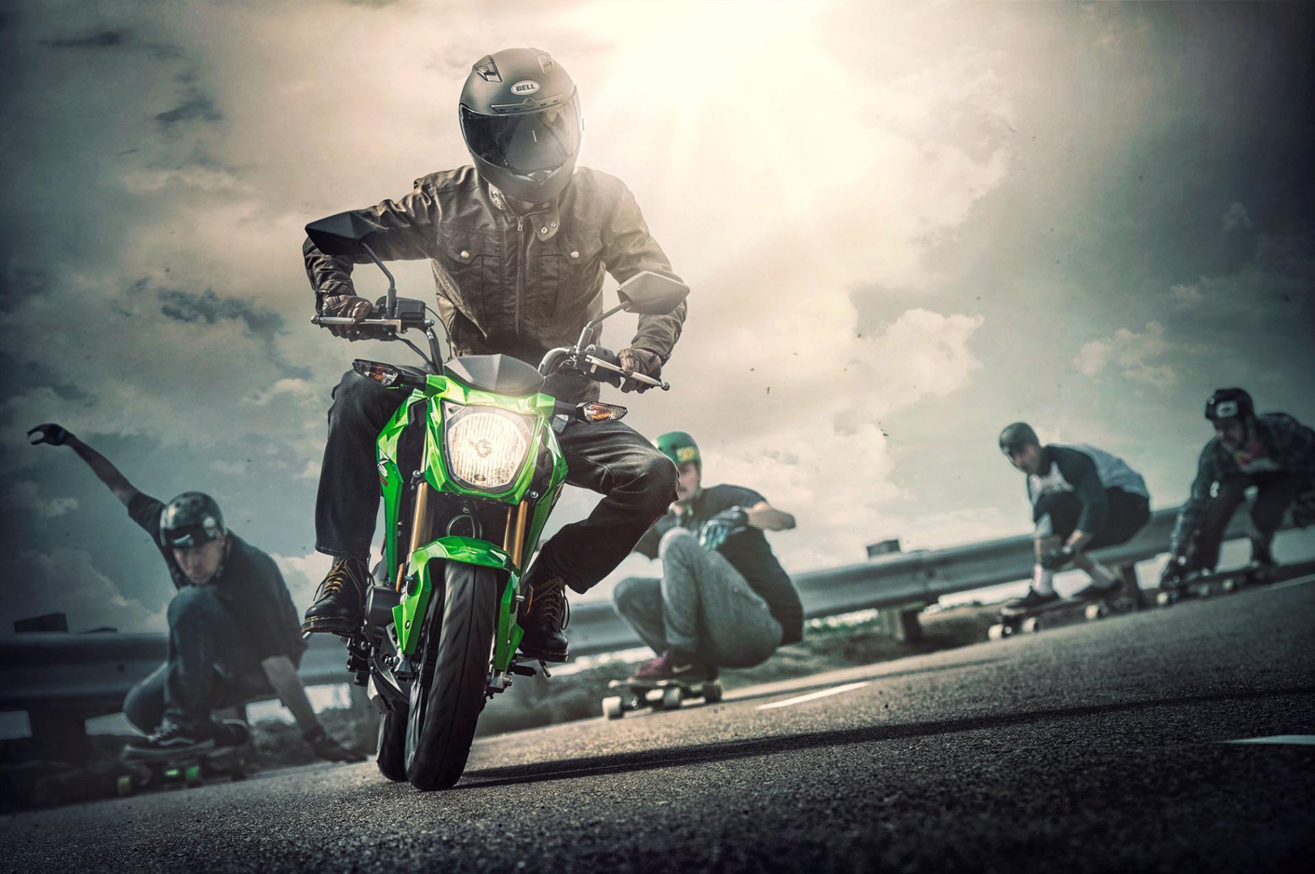 Kawasaki Z125 Pro wallpapers HD quality
