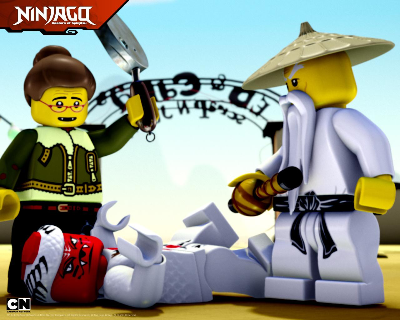 Lego Ninjago Masters Of Spinjitzu wallpapers HD quality