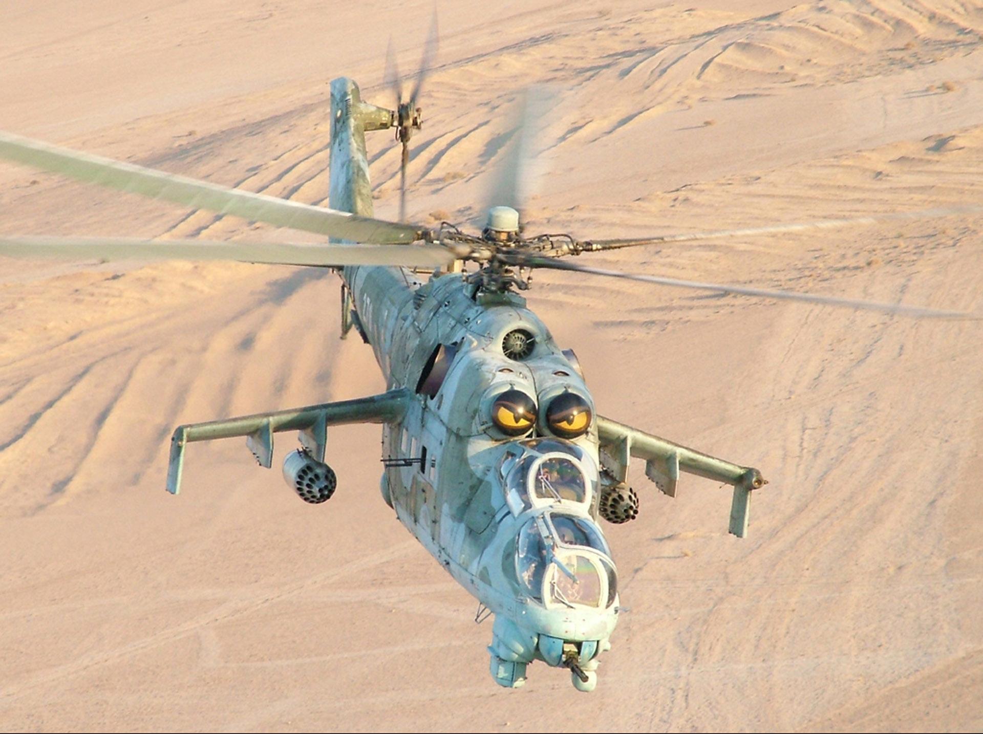 Mil Mi-24 wallpapers HD quality