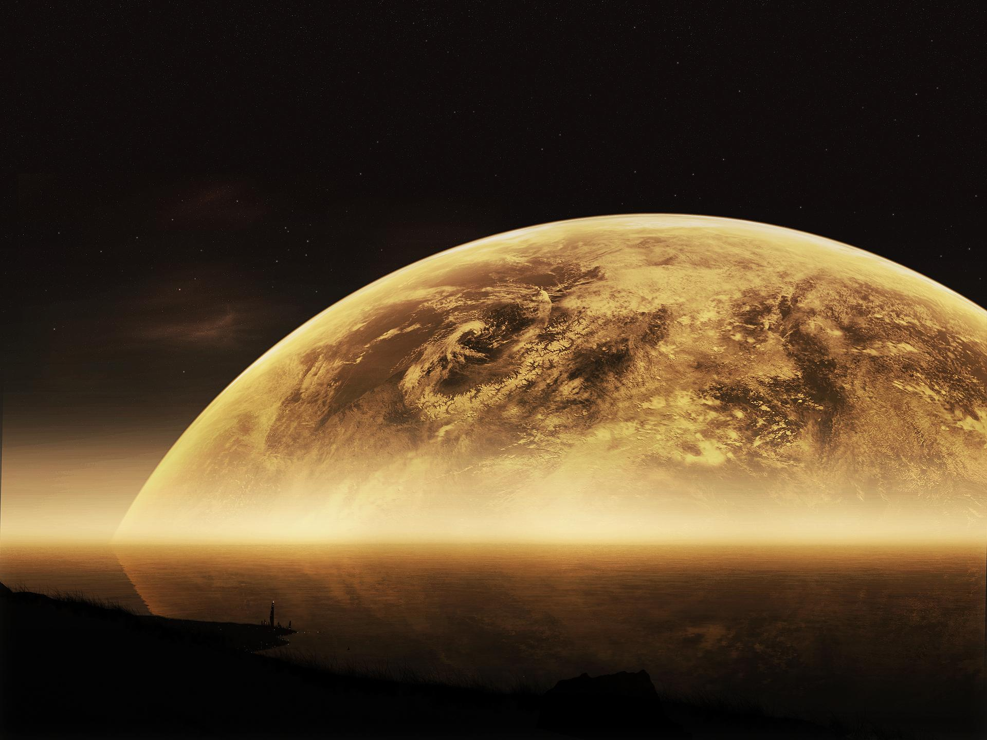 Moon Sci Fi wallpapers HD quality
