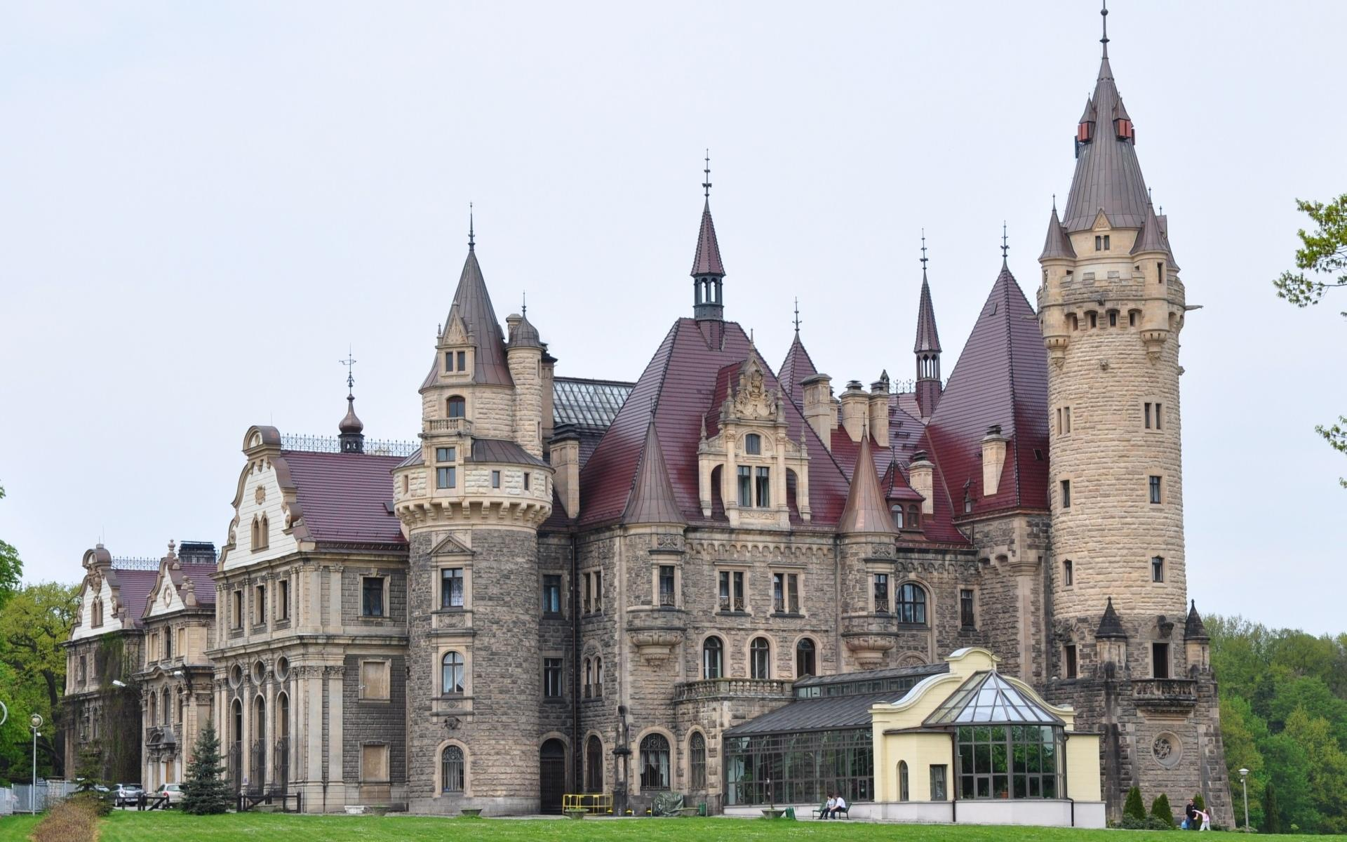 Moszna Castle wallpapers HD quality