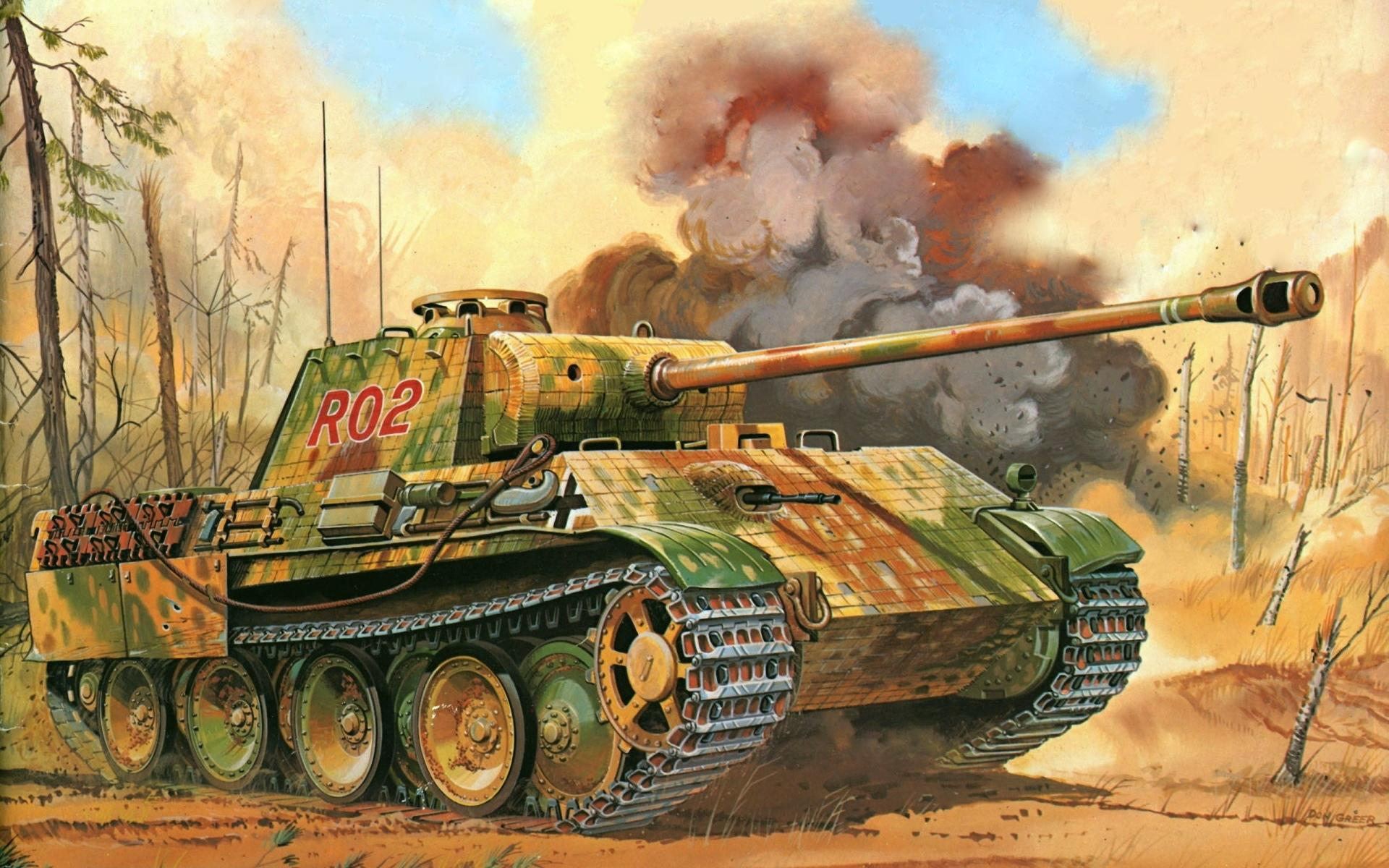 Panther Tank wallpapers HD quality