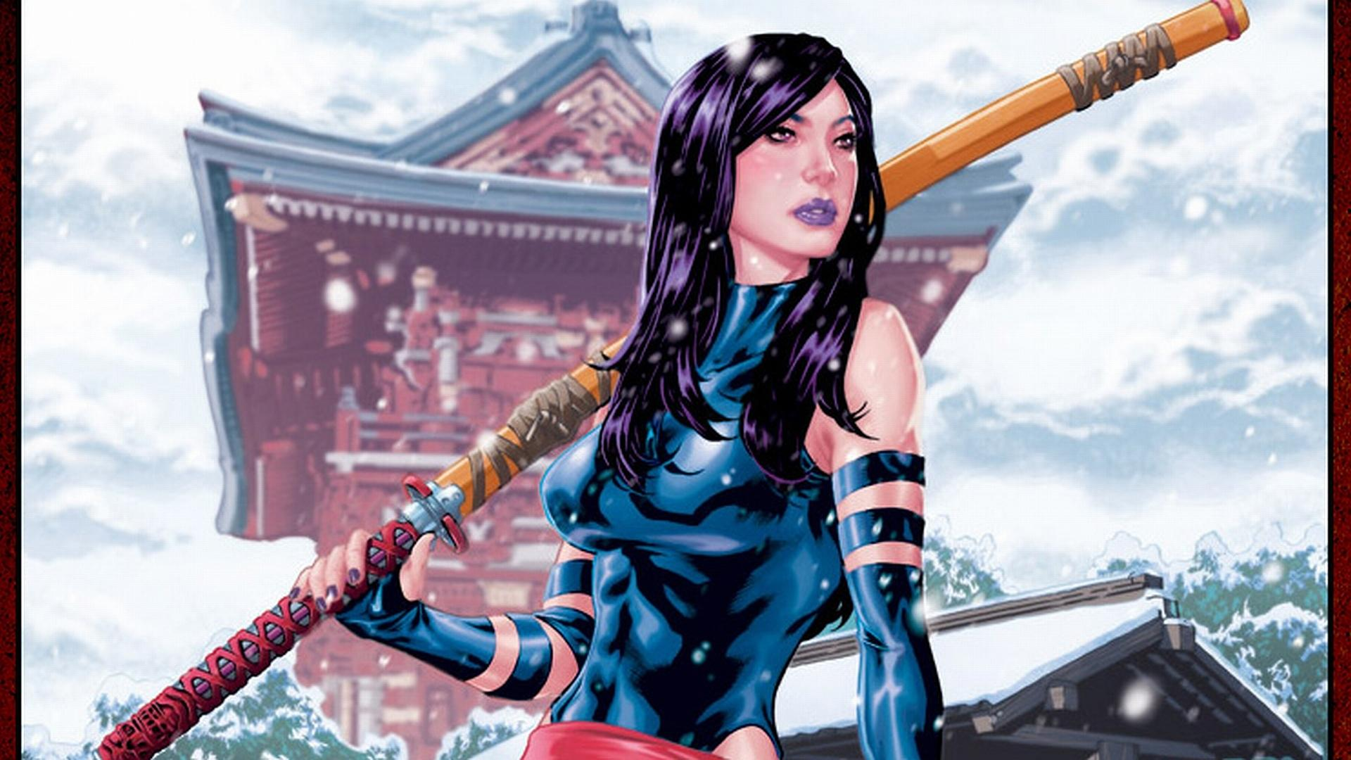 Psylocke Comics wallpapers HD quality