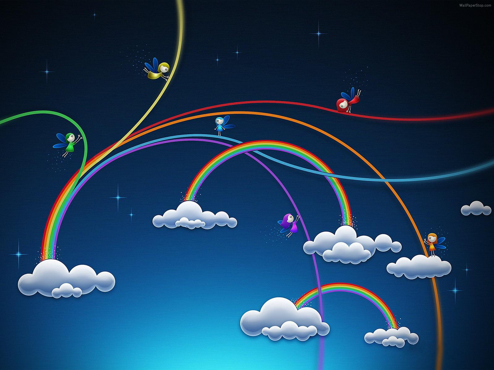 Rainbow Artistic wallpapers HD quality